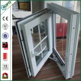 Tissu pour rideaux Windows de double vitrage d'UPVC avec l'écran escamotable