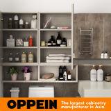Oppeinのセットされる軽い木製の穀物の浴室の家具(BC17-PVC01)