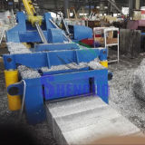 금속 재생을%s 알루미늄 Shavings 쓰레기 압축 분쇄기