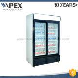 ロックできる単一のドアの表示冷却装置、スーパーマーケットの飲料の直立した表示クーラー