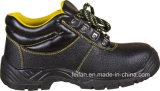 Половина из натуральной кожи и половина PU качества Защитная обувь