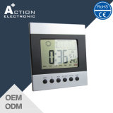 Ce Weather Station Digital Desktop Clock com fuso horário mundial