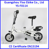 casella 14inch che piega la bicicletta elettrica di E con peso 16kg