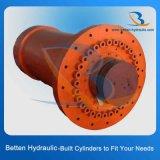 構築の手段のための100トンの頑丈な水圧シリンダ