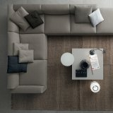 Jogos modulares de canto do sofá na sala de visitas moderna (F629-3-1)