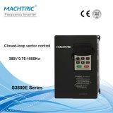 Bajo inversor variable VFD de la frecuencia de la tensión 330V-440V con 0.75kw-1000kw