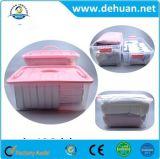 Compartimiento plástico del rectángulo del envase de almacenaje de la talla grande ambiental