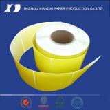 대부분의 Popula 온도계 레이블 레이블 Barcod 인쇄 기계 리본 의류 레이블