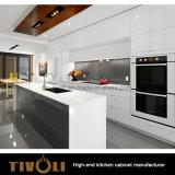 切り取られたFingerpullデザイン柔らかさの終わりの引出しの台所家具(AP023)