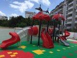 편평한 작풍 아이들 공원 옥외 운동장