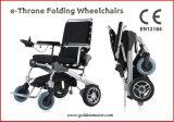 1 segundo Silla de ruedas plegable / desplegable eléctrica, Lightweigh y Portable