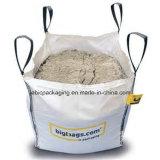 Haut Ouvrez FIBC Grand sac pour le charbon avec rabat