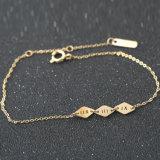 Het Goud van het Roestvrij staal van de Juwelen van de luxe plateerde Onregelmatige Armband voor Vrouwen