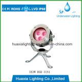 RGBカラー点の照明のための水中LEDプールライト