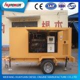 Tipo portatile gruppo elettrogeno del rimorchio di Weichai 160kw per potere standby