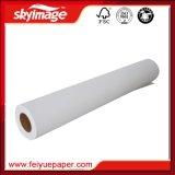 Papier de transfert de sublimation de la taille 126inch 88g de roulis pour le polyester et le Spandex