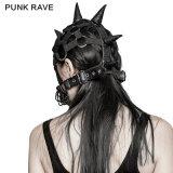 S-201 Punk Accessoires Masques Bonnet à col roulé Bonnet élastique pour performance