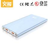 Batería portable 10000mAh de la potencia de la alta capacidad para el cargador del teléfono móvil