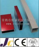 6063t5高品質およびよい価格のアルミニウム正方形の管、アルミニウム管(JC-W-10044)
