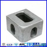 精密鋳造の容器のコーナーの鋳造付属品