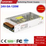 24V 5A 120W Switching Power Supply voor Reserved voor Printer