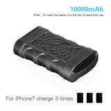 10000mAh chargeur portatif de plein air étanche et résistant aux chocs