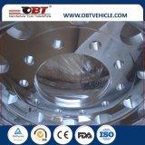 Obt Qualität-LKW-Legierungs-Aluminiumrad-Felge 24.5