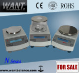 Escala comercial con RS232 Imprimir Interface (2100g / 0.01g)