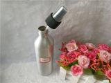 Bouteille d'aluminium cosmétique 200ml avec lotion et pompe à vaporiser
