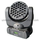 IP 65 LED 전구 36PCS*3W LED 광속 이동하는 맨 위 가벼운 세척 광속 단계 빛