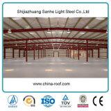 Capannone della costruzione prefabbricata del collegamento serrato magazzino portale d'acciaio del blocco per grafici di prezzi attraenti