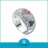 2016 Nuevo Diseño del anillo de plata de la moda con diferentes (R-0056)
