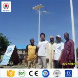 6m 7m 8 m de Rua LED Solar Luz de Estrada
