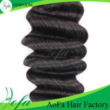 Aofa 7A Grade Ocean Wave Hair、Virgin Human Hair Extension