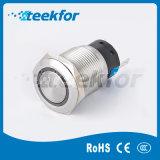 Lámpara de metal de 19mm Indicador luminoso de acero inoxidable
