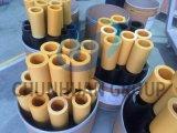 Черный и желтый нейлоновые трубки/трубопроводов