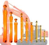 Pièces de bouteur d'excavatrice de cylindre de pétrole hydraulique de position de bras de boum de SANYO Sy205c-8 Sy220LC Sy365