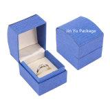 Verpakkende Vakje van de Juwelen van de Gift van de Trouwring van het Document Cardboad van de douane het Elegante Stevige