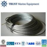 Corde galvanisée de fil d'acier/câble métallique acier inoxydable