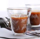 Tazza di caffè doppia del Cappuccino di vetro di Borosilicate della tazza di caffè di Latte della tazza creativa del caffè espresso