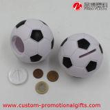Fußball-Form-Förderung-Feld-Geld-Münzen-Einsparung-Kasten
