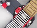 롤러 컨베이어를 가진 자동적인 깔판 온라인 감싸는 기계