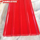 El recubrimiento de zinc planchas de acero de materiales de construcción
