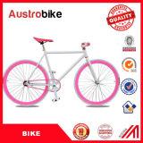 熱い販売700c多彩なFixie固定ギヤバイクの単一の速度多彩な固定ギヤはセリウムの自由な税の販売のために安く自転車に乗る