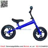 青いカラー強い鉄骨フレームのChilrenのバランスのバイク