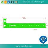 Le meilleur vendant un Wristband de vinyle de Sli RFID de code de l'utilisation I de temps