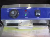 Fryer Comercial глубокий для жарить еду (GRT-E10V)
