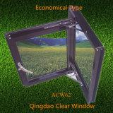 De eenvoudige Glijdende Vensters van het Aluminium van het Profiel met Duidelijk Glas