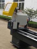 Couper de profils d'aluminium de crémaillère de bagage de véhicule a vu la machine