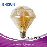 G80 El ahorro de energía de filamento largo regulable bombilla LED